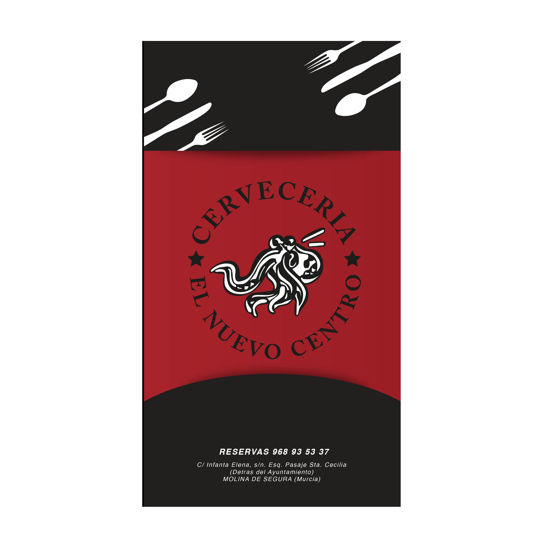 Estudio Creativo, diseño gráfico, Branding, Web, Diseño Logotipo, tarjetas de visita, Servilletas, Posavasos, Cartelería exterior, Menú, Madrid, Nuevo Centro, Restaurante, Molina de Segura, Murcia, 8 Purple.